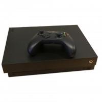 Microsoft Xbox One X 500GB Schwarz Konsole gebraucht
