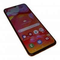 Samsung Galaxy A70 Duos A705FN/DS koralle, 128GB, 32MP, Gebraucht