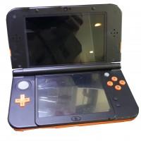 Nintendo New 3DS XL orange/schwarz 4GB SD Karte inkl. 2 Spiele Konsole gebraucht Artikel