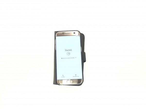 Samsung Galaxy S7 Edge SM-G935F 32GB gold Smartphone + Kopfhörer gebraucht Artikel