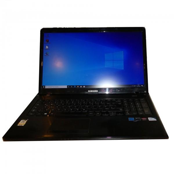 "Samsung Serie 3 350E7C S0G Intel Pentium B980 2x 2,4GHz 17,3"" 4GB 500GB HDD Windows 10 Notebook"