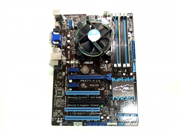 Bundle: Intel Core i5 3470 + ASUS P8Z77-V LX + Adata 8 GB 1600 MHz