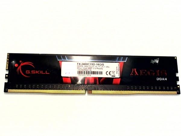 G.Skill Aegis 8 GB (2x8GB), DDR4-2133, PC4-17066U, DIMM, F4-2400C15D-16GIS