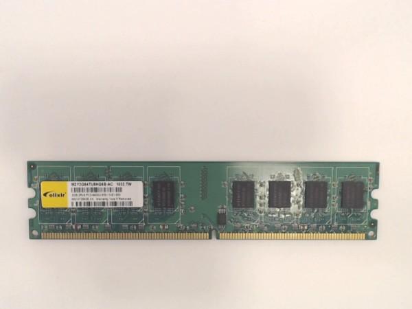 Elixier 2GB DDR2 DIMM PC2-6400U m2y2g64tu8hg6b-ac