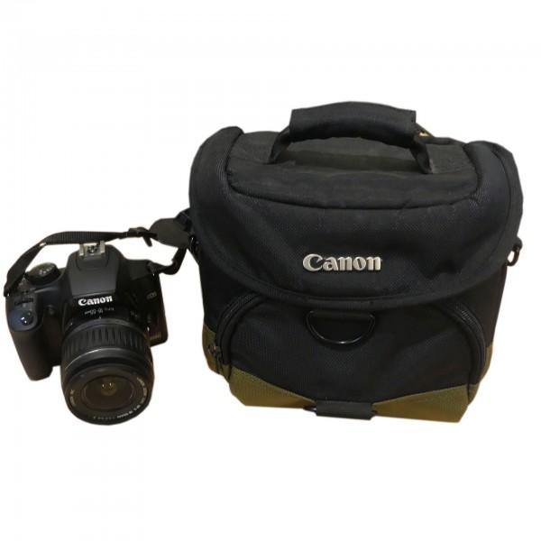 Canon EOS 1000D 10.1 Megapixel schwarz Digitalkamera inkl. Objektiv gebraucht