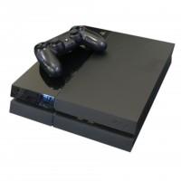 Sony Playstation 4 500 GB schwarz inkl. 1 Wireless Controller gebraucht