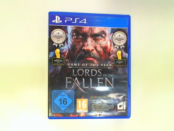 Sony Playstation 4 Spiel - Lords of the Fallen USK 16