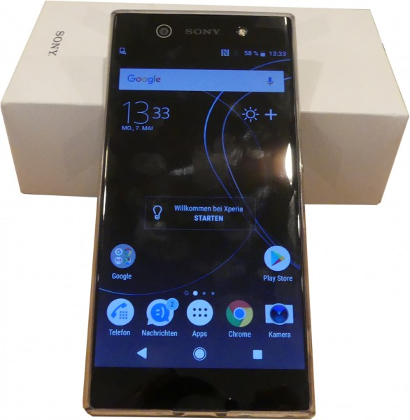 "Sony Xperia XA1 Ultra Black 6"" Full-HD-Display"