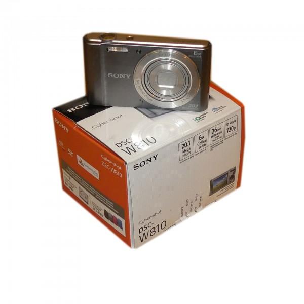 Sony Cyber-shot DSC-W810 20.1 Megapixel silber Digitalkamera