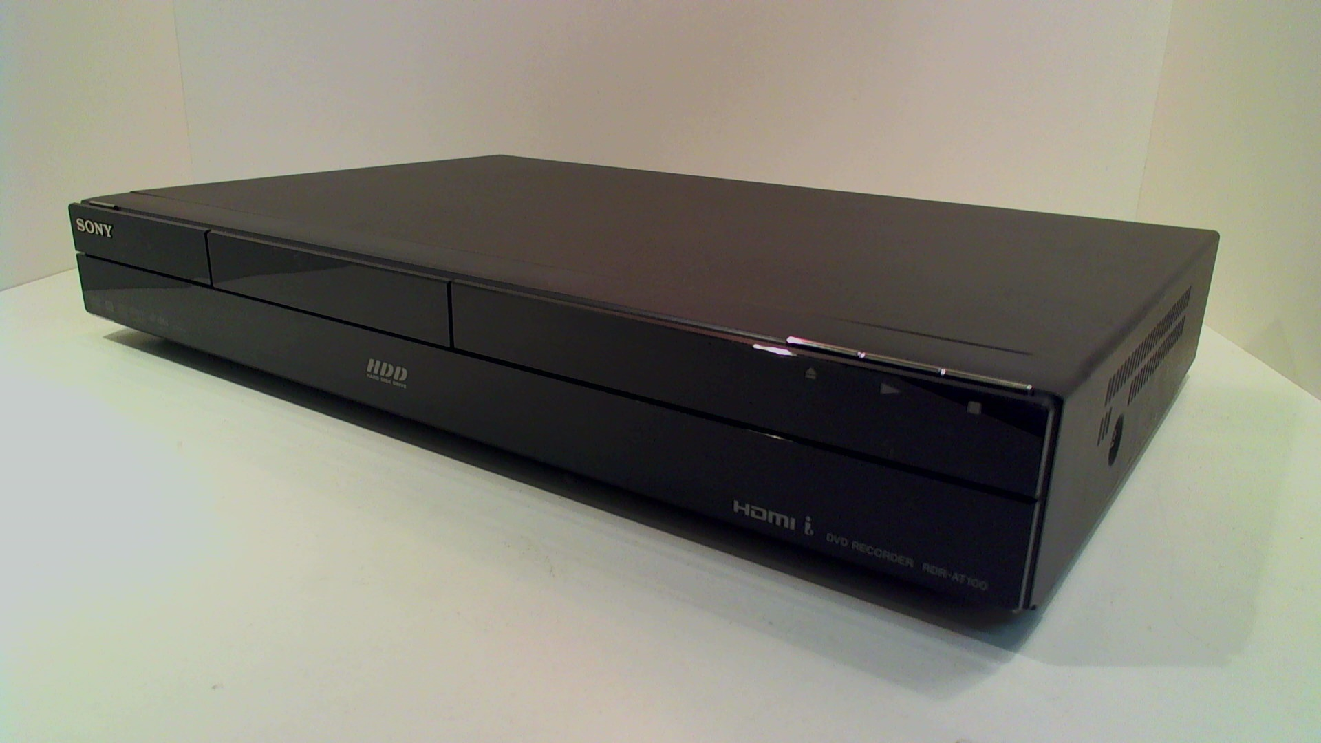 sony rdr at100 dvd recorder 160gb gebraucht artikel fernseher tv hifi an und verkauf. Black Bedroom Furniture Sets. Home Design Ideas
