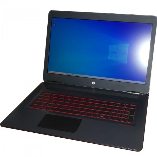 """HP Omen 17-w010ng Intel Core i7-6700HQ, 4x 2,6 GHz 17"""" 8GB 240GB SSD Windows 10 Notebook gebraucht"""