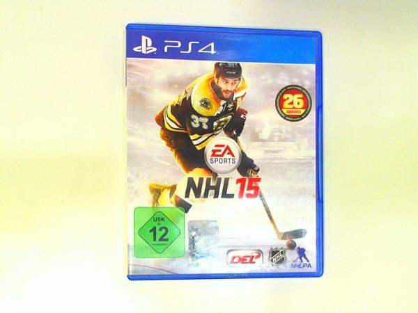 Sony Playstation 4 Spiel - NHL 15 USK 12