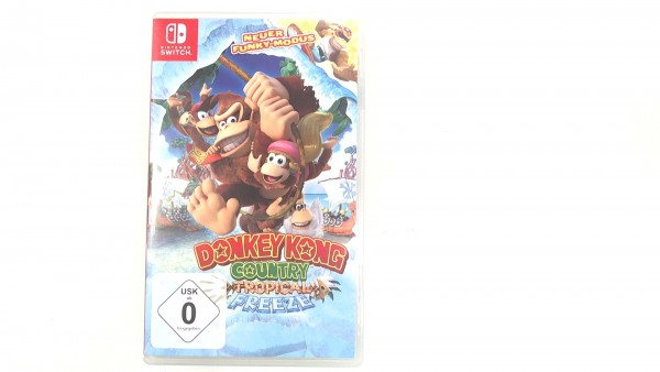 Donkey Kong Country Tropical Freeze Nintendo Switch Spiel gebrauchter Artikel