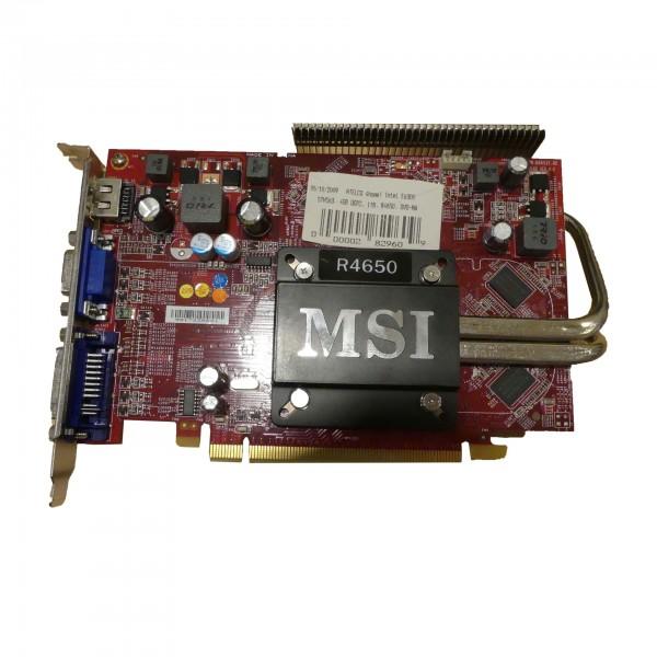 MSI R4650-MD1GZ, 1GB DDR2 1x VGA, 1x DVI, 1x HDMI V160-008R