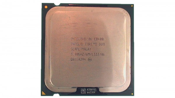 Intel® Core™2 Duo Processor E8400 , 2x3GHz, SLAPL MALAY Prozessor