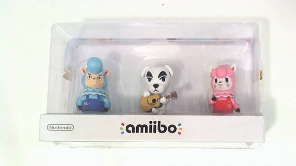 Nintendo Amiibo Animal Crossing 3er Set
