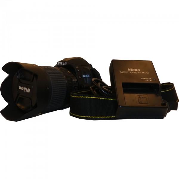 Nikon 3100d Spiegelreflex mit Objektiv , Netzteil 14MP 7110660 gebraucht Artikel