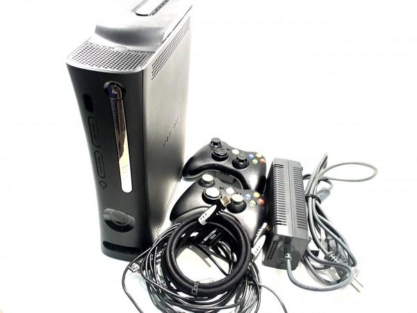 Microsoft XBox 360 16GB HDD weiß inkl. 1 Controller gebraucht