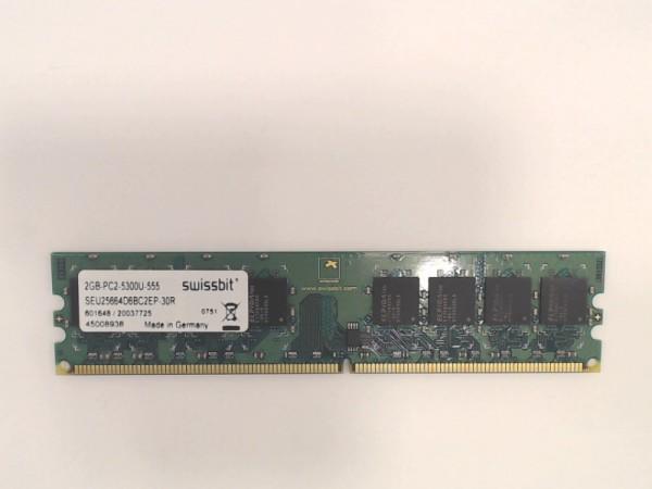 SiQuell Technology 4GB DDR2 800MHz PC2-6400U Speicher