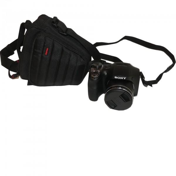 Sony Cyber-shot DSC-H300 schwarz 20.1 Megapixel Digitalkamera gebraucht Artikel