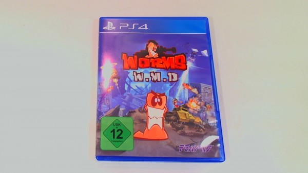 Sony Playstation 4 Spiel - Worms WMD USK 12