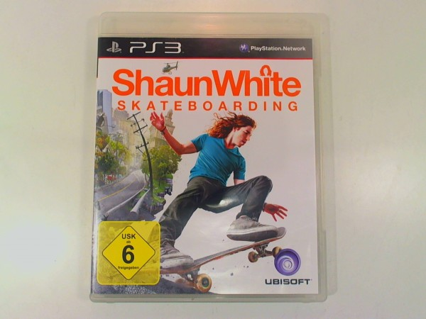 Sony Playstation 3 Spiel Shaun White Skateboarding USK 6