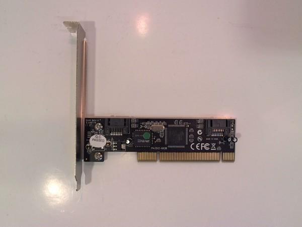 SATA 150 Controller Silicon Chip PCI 2xSata gebraucht Artikel