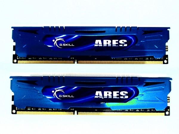 G.Skill Ares DIMM Kit 8GB 2x4GB DDR3L-1600 UDIMM F3-1866C9D-8GAB