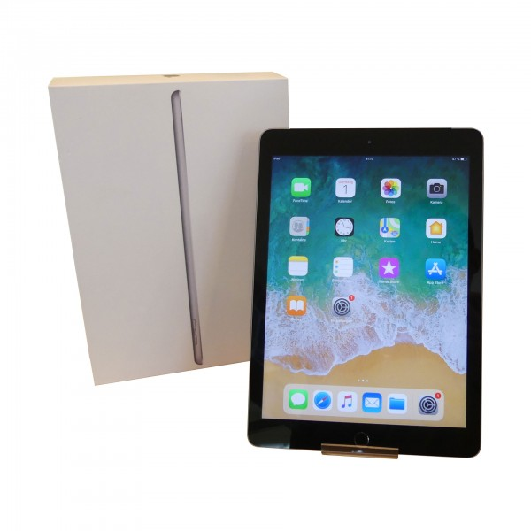 """Apple iPad 5th Gen 2017 A1823 9.7"""" 32GB LTE iOS Space Grey gebraucht Tablet"""