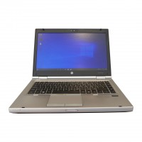 "HP EliteBook 8460p, Intel Core i5-2410M, 2x 2.30GHz 14"" 4GB SSD 180GB Windows 10 , gebraucht"