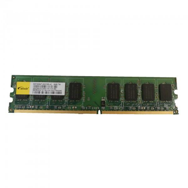 Elixir M2Y2G64TU8HD5B-AC, PC2-6400, 2 GB, DDR2, 800 MHz, M2Y2G64TU8HD5B-AC Speicher