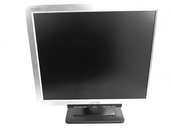 "Captiva E1903, 19"", 1280x1024, VGA, Audio, TFT"