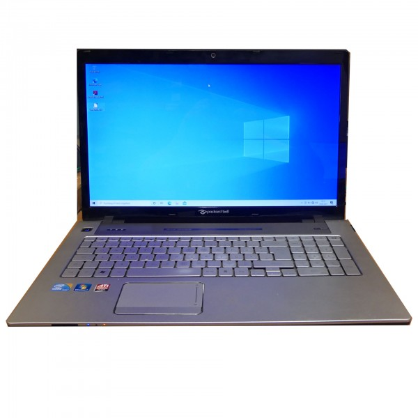 "Packard Bell Easynote lx86-jp-135ge,17,3"" Intel Core i7-Q740 2x1.73GHz, 4GB, 500GB, Win 10 Home"