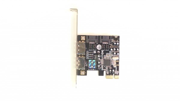 PCI Express to Serial ATA (eSATA II/300) 2/2 SIL3132 VER C Port Host Adapter gebraucht Artikel