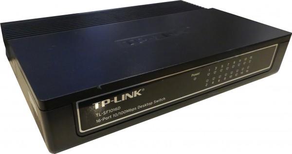 TP-Link 16-Port-10/100Mbit/s Desktop Switch