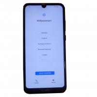 Huawei Y6 (2019) MRD-LX1 32 GB blau 13 Megapixel Smartphone gebraucht