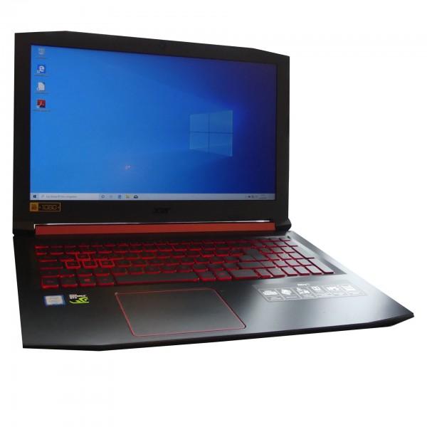 Acer Nitro 5 AN515-5, 8GB, 256GB, Windows 10, Intel i7 7700HQ, GTX 1050 gebrauchter Artikel