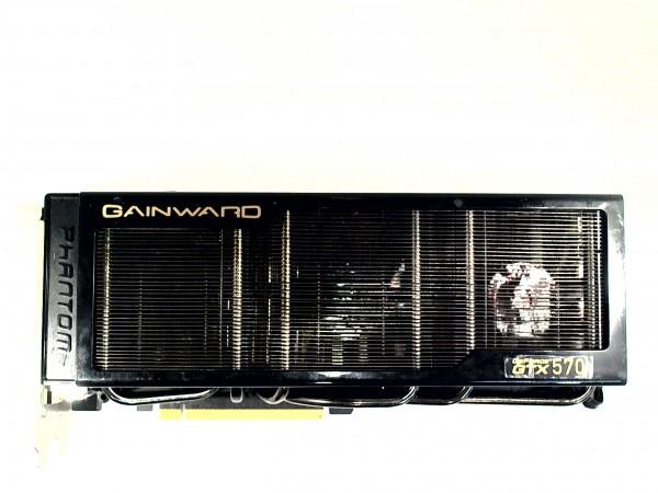 Gainward NVIDIA GeForce GTX 570 , 1280 MB GDDR5 2x DVI, HDMI, DP PCI-E NE5X570S10DA