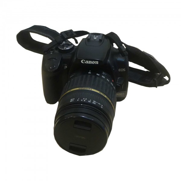 Canon Digital EOS 400D 10.5 Megapixel Digitalkamera mit Zubehör gebraucht