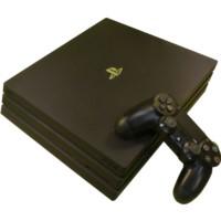 Sony Playstation 4 Pro 1TB  1x kabellose Dualshock 4 Controller CUH-7216B black gebraucht Artikel