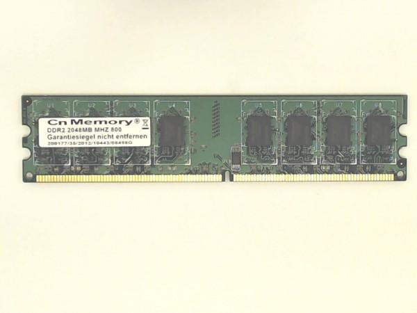 Cn Memory DDR2 2GB 800MHz Arbeitsspeicher