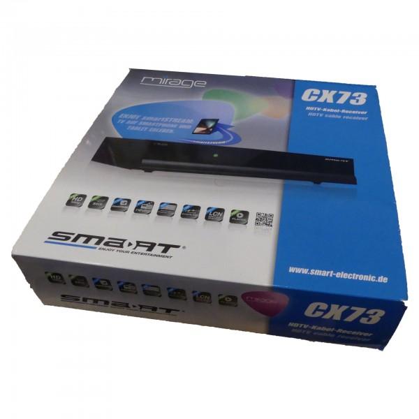 Mirage Smart CX 73 HD Kabel-Receiver (Smart Stream, SCART, HDMI, USB) gebraucht Artikel