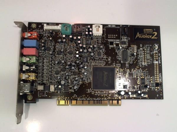 Sound Blaster Audigy 2 PCI Soundkarte gebraucht Artikel