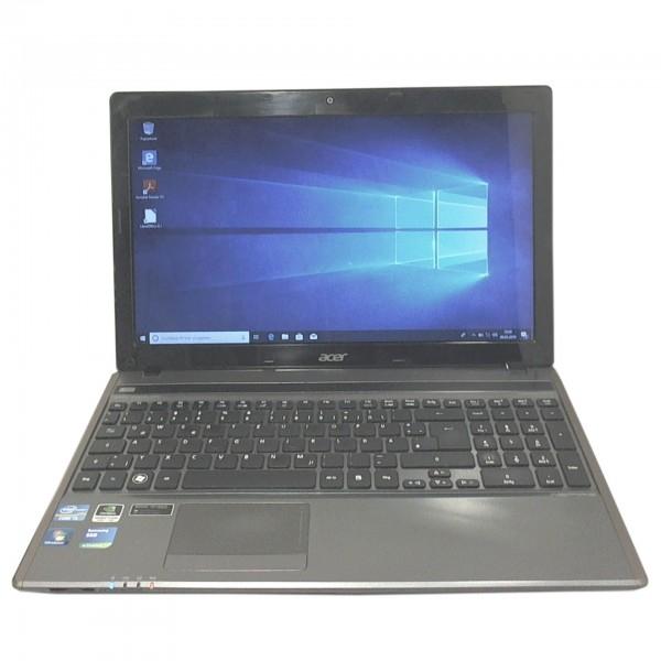 "Acer Aspire 5755G-2434G50Mics Intel Core i5-2430M 2x 2.40GHz 15.6"" 8GB 500GB SSD Windows 10 Notebook"