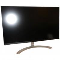 """LG 27UD68-W LED-Monitor 27"""" 3840x2160 UHD AH-IPS silber/weiß Display gebraucht"""
