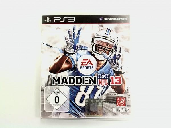 Sony Playstation 3 Spiel Madden NFL 13 USK 0