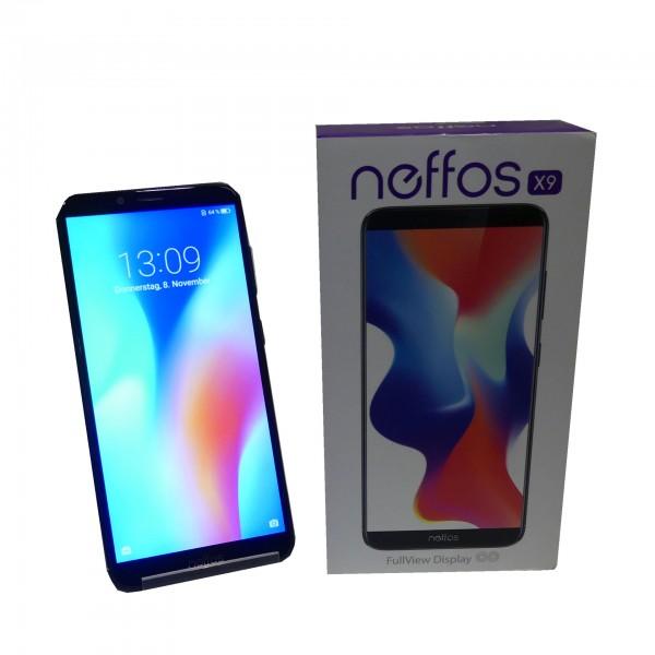 Neffos X9 32GB TP913A56EU schwarz , 64bit 4x 1.50GHz Cortex-A53 + 4x 1.00GHz Cortex-A53