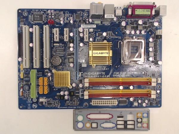 Gigabyte Mainboard GA-EP31-DS3L Sockel 775