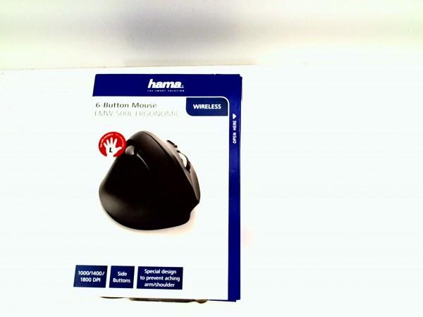 Hama EMW-500L Ergonomic Wireless Maus gebrauchter