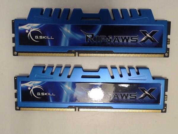 G.Skill 8 GB (2x4GB) DDR3-1600 Kit F3-12800CL8D-8GBXM